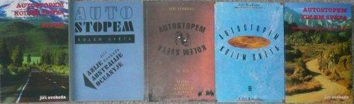 Knihy série Autostopem kolem světa - Jiří Svoboda